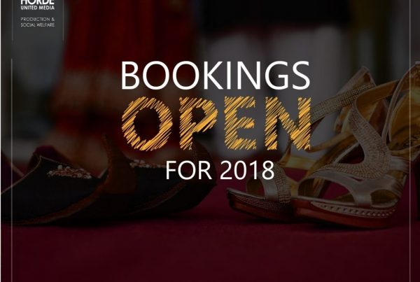 Bookings open post design