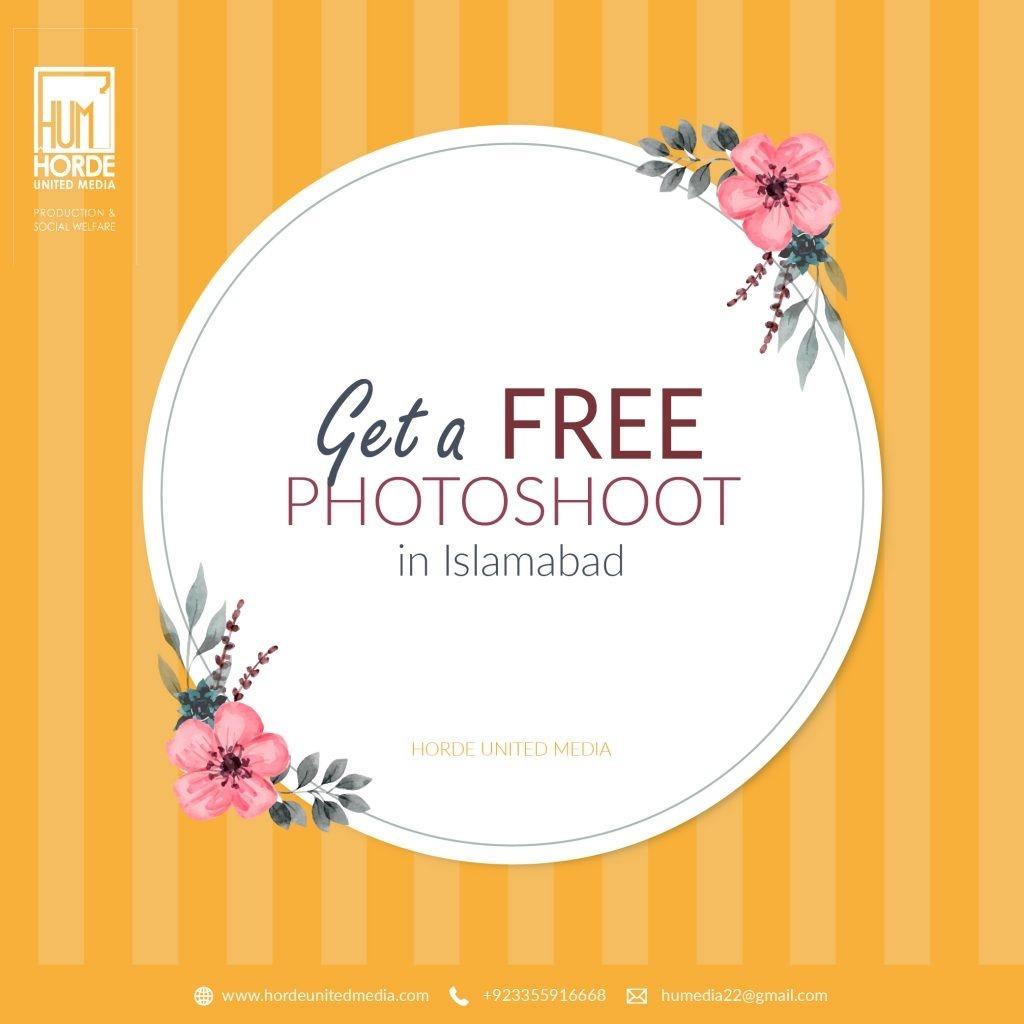Free Photoshoot post design