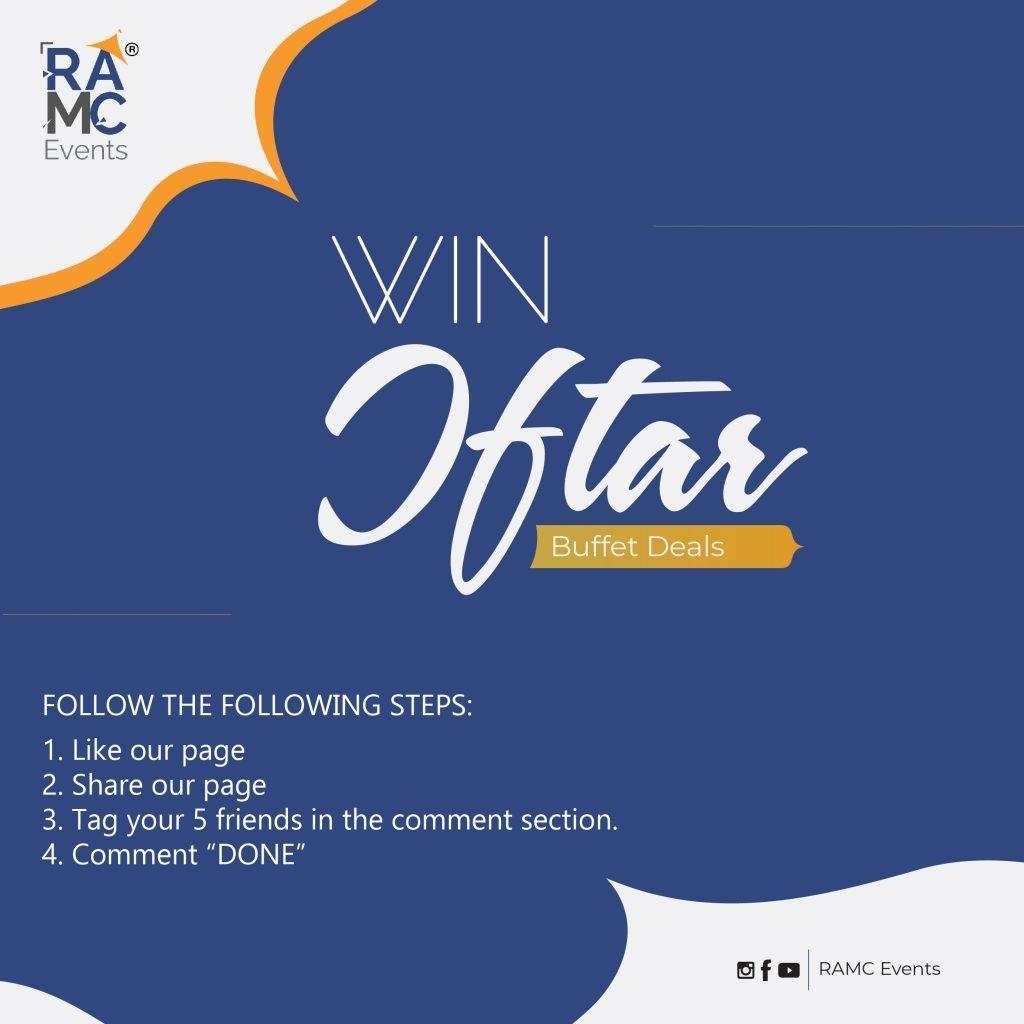 post design ramc events iftar