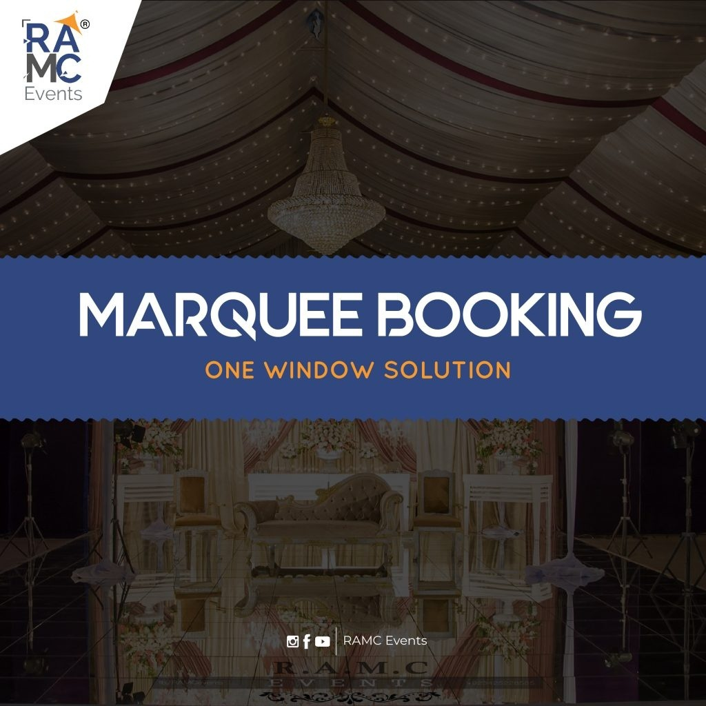 Marquee Booking ramc events