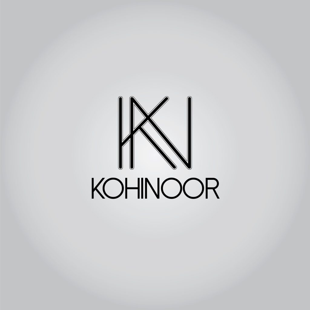 Kohinoor logo design 3