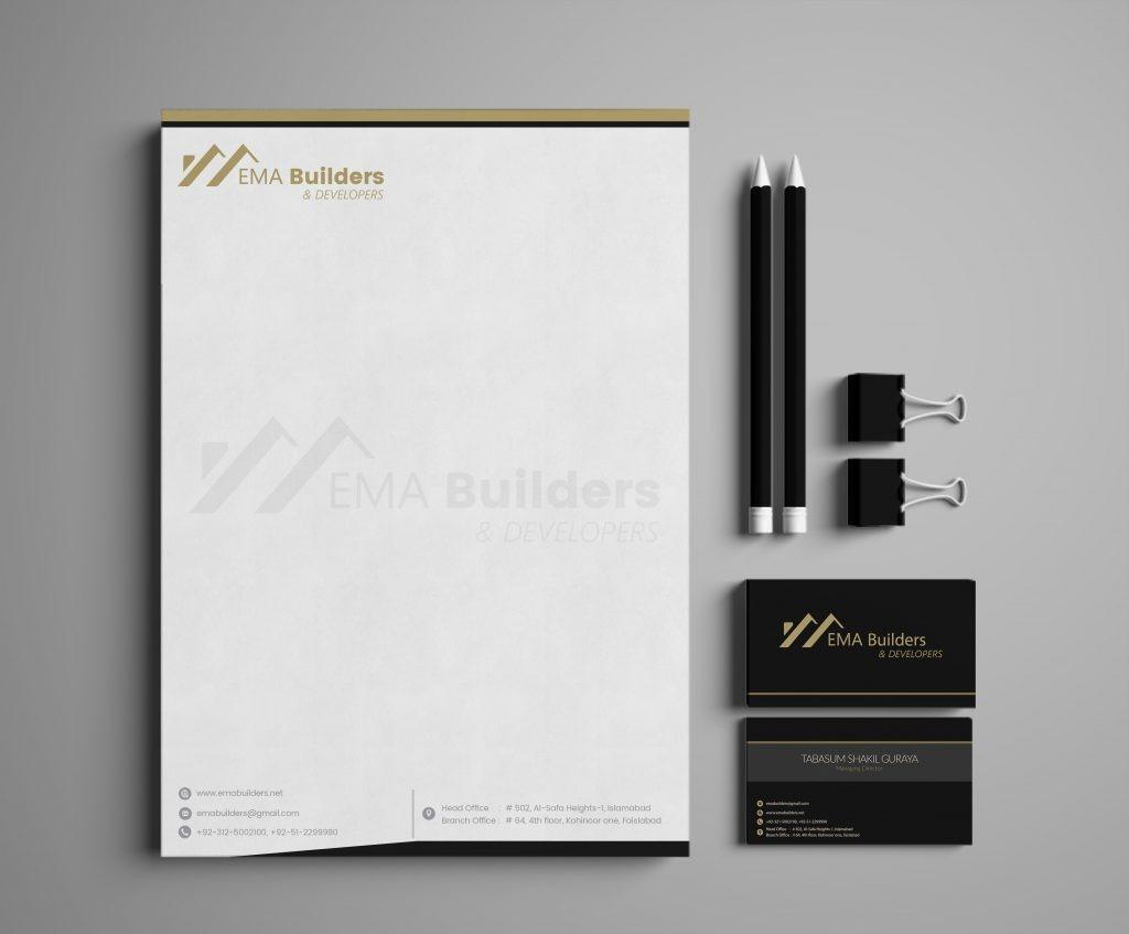 letterhead design ema
