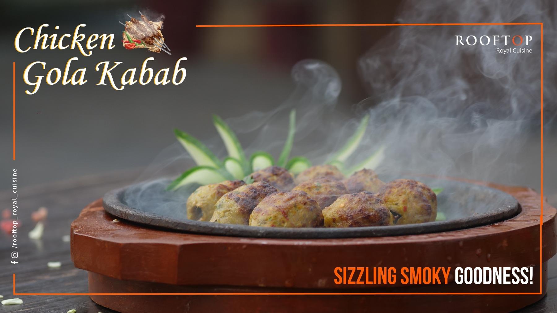 Social Media Marketing - Chicken Kebab