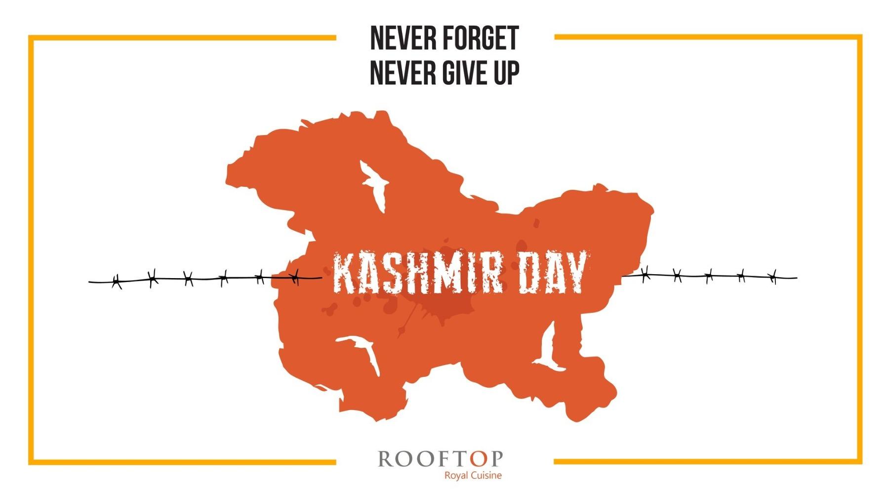 Social Media Marketing - Kashmir Day