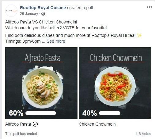 Social Media Marketing - Poll