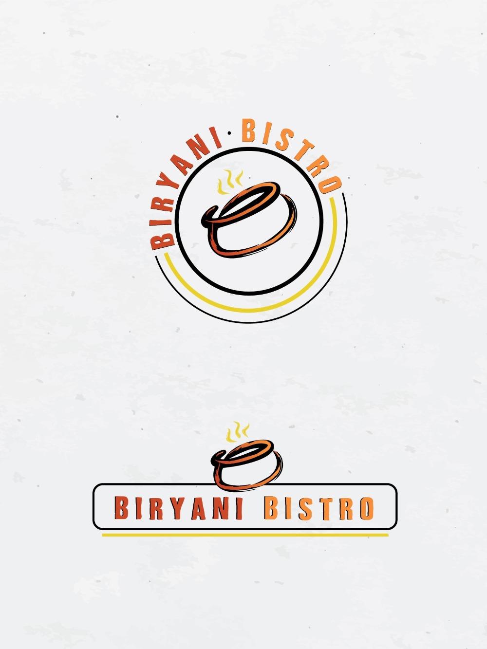 Biryani Bistro Logo Design